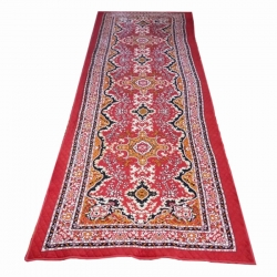 5 FT X 15 FT Multi Color Maharaja Galicha - Printed Galicha - Carpet - Floor Mat - Mat - Made Of Cotton Material