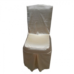 Crush Chair Cover - For without Handle Plastic Chair - Shinning - Gray Color