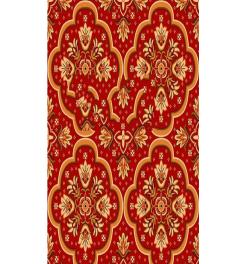 5 FT X 145 FT - Print Carpet - Non Woven - Jute Carpet - Multi Color