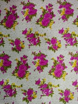 Micro Rotto Print - 40 Inch Panna - 5.2 KG - Event Cloth - Multi Color