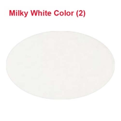 Micro Janta Quality - 39 Inch Panna - 5.7 KG Quality - Milky White Color