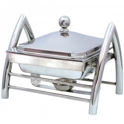7 LTR - Chafing Dish - Hot Pot Dish - Garam Set - Buffet Set - Made Of Stainless Steel (6 Kg)
