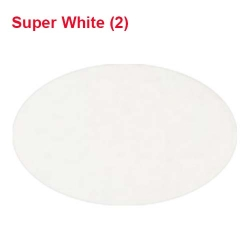 Rotto Janta Quality / 39 Inch Panna /5.7 Gram Quality / Available In All Color . ( Super White )