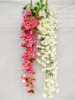 4.25 FT - Heavy Plastic Artificial Flower - Latkan - Flower Decoration - Multi Color