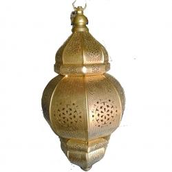 18 Inch - Decorative Lanterns - Hanging Lanterns - Kandil - Made Of Iron.