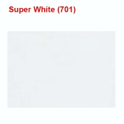 13 KG Taiwan / Super White Color / 60 Inch Panna - Length / Calander Quality.