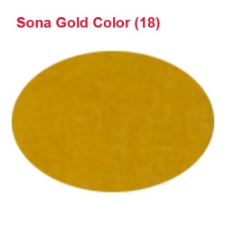 Micro Janta Quality - 39 Inch Panna - 5.7 KG Quality - Sona Gold Color
