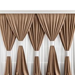 10 FT X 12 FT - Parda - Curtain Set - Stage Parda - Wedding Curtain - Mandap Parda - Made Of Brite Lycra - Multi Color