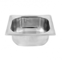GN Pan 1/6 - Deep 2.5 Inch - Pan - Made Of Stainless Steel