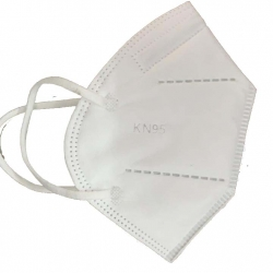 Washable Face Mask without Nose Pin - White Color