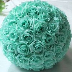 18 Inch - Artificial Plastic Hanging Flower Ball - Flower Decoration - Light Green Color