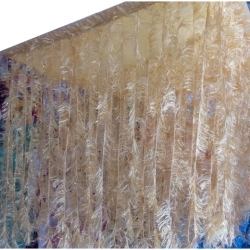 10 FT X 10 FT - Fur Ceiling Jhumar - Entry Gate Jhumar - Golden Color