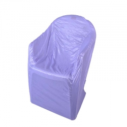 Chandni Chair Cover with Handle For Plastic Chair Volite - White Color