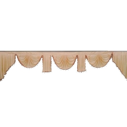 Cream Color - Jhalar - Mandap Jhalar For Wedding & Party - Made of Heavy Brite Lycra Cloth