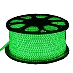 85 MTR Roll - Rope Light - Single Dot Model No 3014 - Water Proof - Green Color