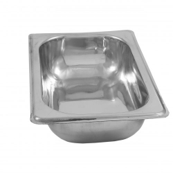 GN Pan 1/4 - Deep 2.5 Inch - Gastronorm Pan - Made of Stainless Steel