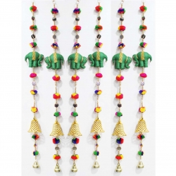 3 FT - Artificial Rajasthan Ladi - Door Latkan - Hanging Latkan - Multi Color