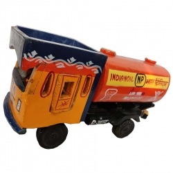 12 INCH - Decorative Petrol Truck - Center Table Item - Made of Wood