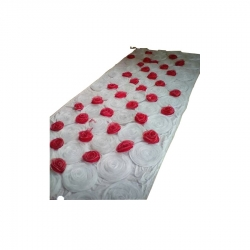 4 FT X 8 FT Artificial Flower Panel Back Material Taiwan Cloth For Wedding & Decoration.