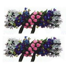 4 FT - Plastic Artificial Flower Panel - Flower Carry - Flower Decoration - Multi Color
