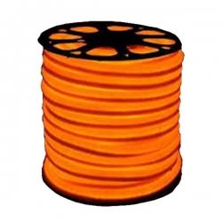 50 MTR Roll - Neon Rope Light - IP65 Waterproof Resistant - Indoor - Outdoor Rope Lighting - Orange Color