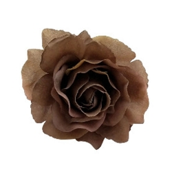 4 Inch - Loose Flower - Artificial Flower - Ceiling Flower - Flower Decoration - Chocolate Color