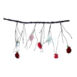 120 Inch - Artificial Dry Roots  - Flower Decoration - AF - 752 - Multi Color