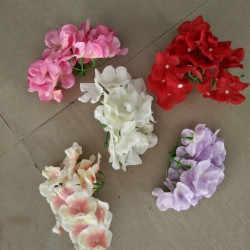 4 Inch - Loose Flower - Artificial Regular Quality Flower - Ceiling Flower - Multi Color 1 Packet (5 Pieces)