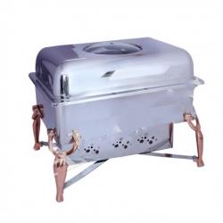 8 LTR - Chafing Dish - Hot Pot Dish - Garam Set - Buffet Set - Made Of Stainless Steel (10 Kg)