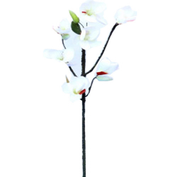 Height - 24 Inch - Artificial Dry Orchid Stick - AF- 279 - Orchid Stick - White Color