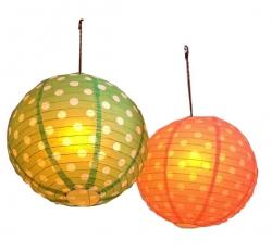 Multi Color - Lantern - Hanging Lantern - Kandil - Candle - Holders - Made Of Plastic.
