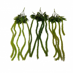 30 Inch - Artificial Wall Hanging - Flower Decoration - Green Color