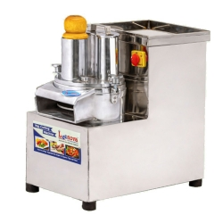 1 HP - Vegetable Cutting Machine - Regular Machine with 8 Blade - Made of stainless Steel