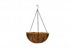 2 Ft - Handmade Artificial Hanging Basket - Flower Decoration .