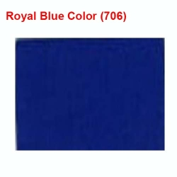 Dani Cloth - 6 KG Quality - 40 Inch Panna - Royal Blue Color.