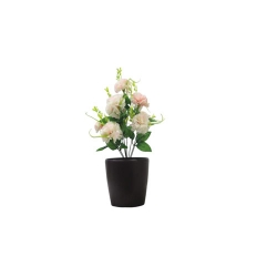 1.2 FT - Artificial Flower Bunches - Fake Flowers Artificial Plant without Pot  - Peach Color