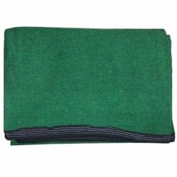 12 FT X 18 FT - Premium - Heavy Acrylic - Dari - Dhurrie - Rugs - Satranji - Floor Mat -Green color - Weight - 6.5 Kg