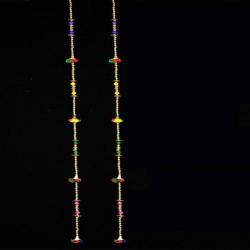 5 FT - Jhumar - Rajasthani Hanger - Door Hanging - Multi Color