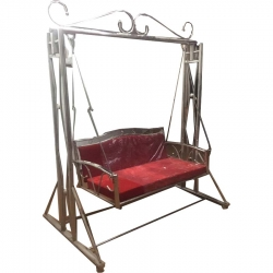 Brown Color - Jhula - Swing - Steel Jhula - Wedding Steel Jhula - Wedding Jhula - Made Of Stainless Steel