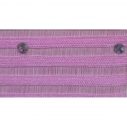 Sparkle Tikli Work Cloth - 52 Inch Panna - 10 Meter Quality - Drapping Cloth - Light Purple Color