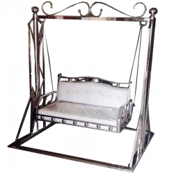 White Color - Jhula - Swing - Steel Jhula - Wedding Steel Jhula - Wedding Jhula - Made Of Stainless Steel