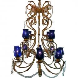 56 INCH - Iron Hanging Jhumar - Decorative Jhumar - Wedding & Reception
