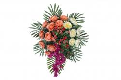 1.5 FT - Artificial Plastic Flower Bouquet - Flower Decoration - Multi Color