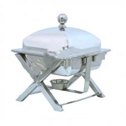 5 LTR - Chafing Dish - Hot Pot Dish - Garam Set - Buffet Set - Made Of Stainless Steel.(5.5 Kg)