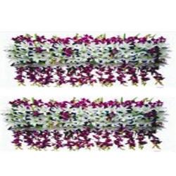 5 FT - Plastic Artificial Flower Panel - Flower Carry - Flower Decoration - Multi Color