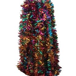 25 FT - Artificial Lout-Con - Jari - Chamkili - Small Thred  Flower - Multi Color