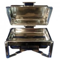 8 LTR - Chafing Dish - Hot Pot Dish - Garam Set - Buffet Set - Made Of Stainless Steel.