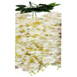 Height - 36 Inch - Artificial Creeper - Latkan - Flower Decoration - Artificial Latkan - Plastic Latkan - AF 533 - White Color