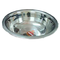 32 Inch X 32 Inch - Serving Bowl - Donga - Made of Stainless Steel