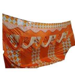 11 FT X 15 FT - Parda - Curtain - Stage Parda - Wedding Curtain - Mandap Parda - Made of Brite Lycra & knitting Cloth.